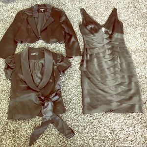 Jones New York tank dress and two jackets!